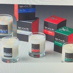 Light of my Life Candle Collection